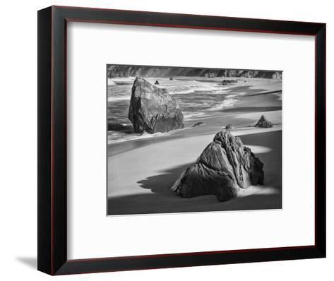 USA, California, Garrapata Beach-John Ford-Framed Art Print