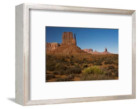 West Mitten, Monument Valley Navajo Tribal Park, Arizona-Michel Hersen-Framed Art Print
