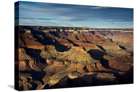 Sunset, Hopi Point, South Rim, Grand Canyon NP, Arizona, USA-Michel Hersen-Stretched Canvas Print