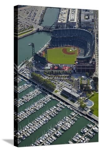 Ballpark, Home of San Francisco Giants, San Francisco, California-David Wall-Stretched Canvas Print