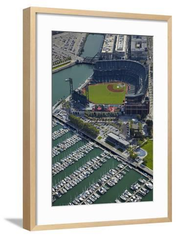 Ballpark, Home of San Francisco Giants, San Francisco, California-David Wall-Framed Art Print
