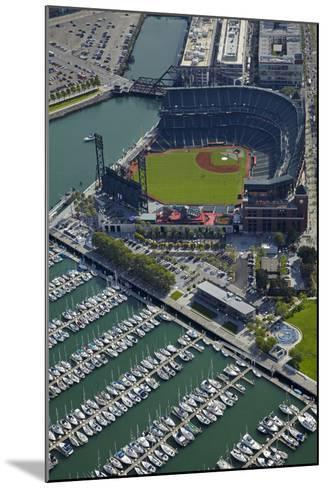 Ballpark, Home of San Francisco Giants, San Francisco, California-David Wall-Mounted Photographic Print