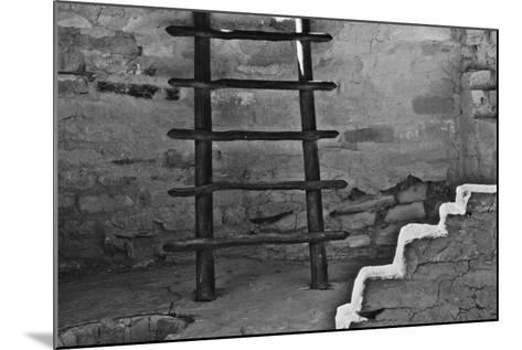 USA, Colorado, Mesa Verde, Long Ladder-John Ford-Mounted Photographic Print