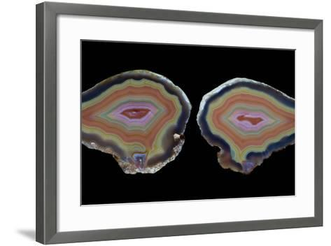 Banded Agate, Quartzsite, AZ-Darrell Gulin-Framed Art Print