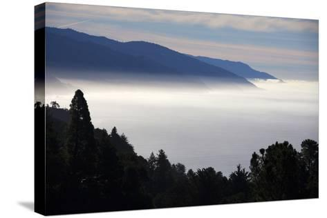 USA, California. Coastal Big Sur from Pacific Coast Highway 1-Kymri Wilt-Stretched Canvas Print
