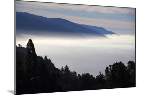USA, California. Coastal Big Sur from Pacific Coast Highway 1-Kymri Wilt-Mounted Photographic Print