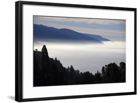USA, California. Coastal Big Sur from Pacific Coast Highway 1-Kymri Wilt-Framed Art Print