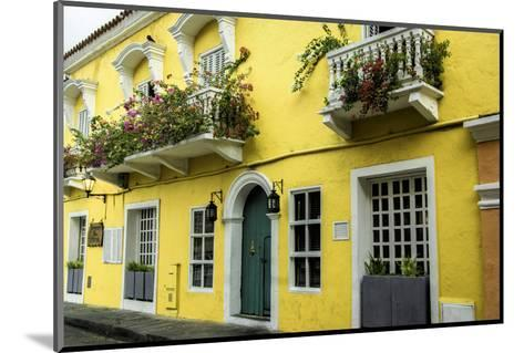 Architecture in the San Diego Part of Old City, Cartagena, Colombia-Jerry Ginsberg-Mounted Photographic Print
