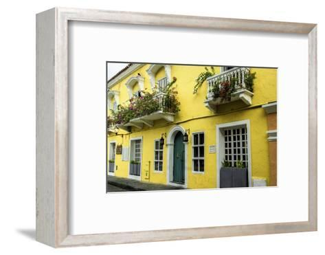 Architecture in the San Diego Part of Old City, Cartagena, Colombia-Jerry Ginsberg-Framed Art Print