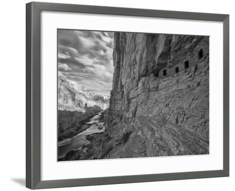 USA, Arizona, Grand Canyon, Colorado River, from Nankoweap-John Ford-Framed Art Print