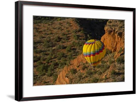 Aerial View, Doe Mesa, Red Rock Country, Sedona, Coconino NF, Arizona-Michel Hersen-Framed Art Print