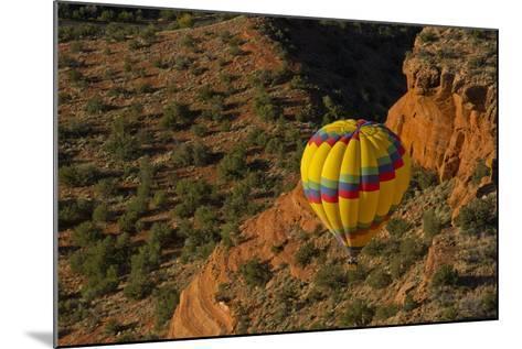 Aerial View, Doe Mesa, Red Rock Country, Sedona, Coconino NF, Arizona-Michel Hersen-Mounted Photographic Print