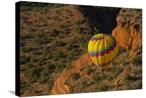 Aerial View, Doe Mesa, Red Rock Country, Sedona, Coconino NF, Arizona-Michel Hersen-Stretched Canvas Print