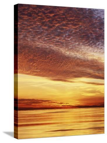 USA, California, San Diego, Sunset over the Pacific Ocean-Christopher Talbot Frank-Stretched Canvas Print