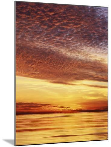 USA, California, San Diego, Sunset over the Pacific Ocean-Christopher Talbot Frank-Mounted Photographic Print