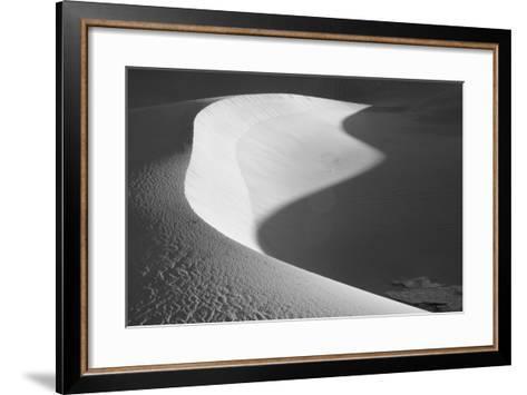 USA, California, Valley Dunes-John Ford-Framed Art Print