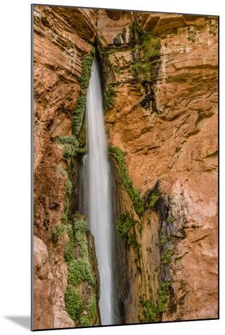 Waterfall. Tributary to Colorado River. Grand Canyon. Arizona. USA-Tom Norring-Mounted Photographic Print