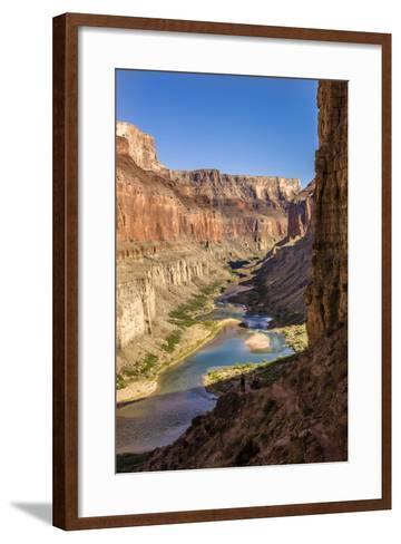 Anasazi Ruins. Nankoweap Granaries. Grand Canyon. Arizona. USA-Tom Norring-Framed Art Print