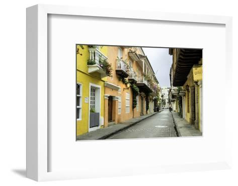 Architecture in the San Diego Section, Cartagena, Colombia-Jerry Ginsberg-Framed Art Print
