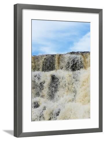 Orinduik Falls, Guyana-Keren Su-Framed Art Print