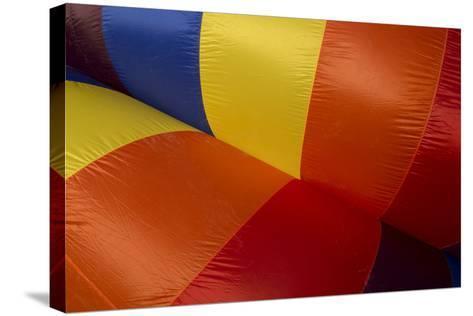 Colorado, Colorado Springs. Hot Air Balloon at the Balloon Festival-Don Grall-Stretched Canvas Print