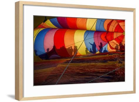 Colorado, Colorado Springs. Hot Air Balloon at the Balloon Festival-Don Grall-Framed Art Print