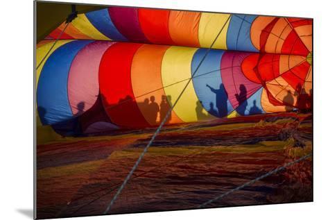 Colorado, Colorado Springs. Hot Air Balloon at the Balloon Festival-Don Grall-Mounted Photographic Print