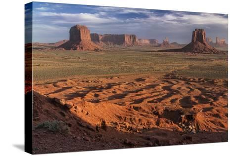 USA, Arizona, Monument Valley, Artist Point-John Ford-Stretched Canvas Print