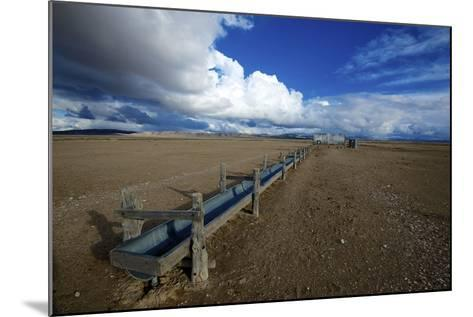 Barrel Spring, Ely, Nevada. a Remote Spring in the Nevada Desert-Richard Wright-Mounted Photographic Print