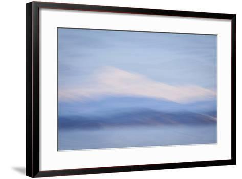 USA, Washington State, Mount Baker. Abstract of Mount Baker-Don Paulson-Framed Art Print