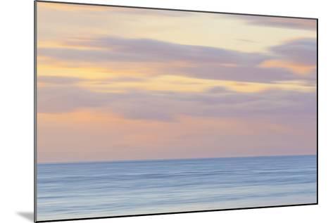 USA, Washington State, San Juan Islands. Abstract Sunset Scenic-Don Paulson-Mounted Photographic Print