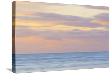 USA, Washington State, San Juan Islands. Abstract Sunset Scenic-Don Paulson-Stretched Canvas Print