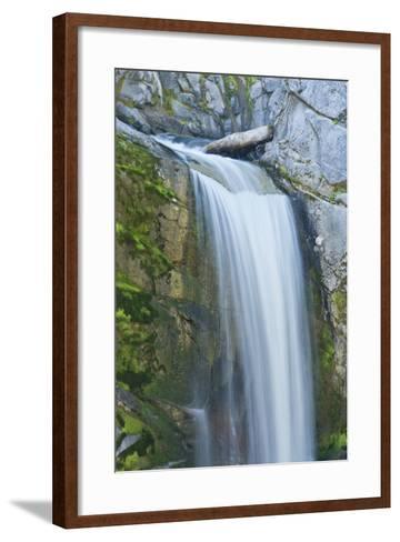 Christine Falls, Mount Rainier National Park, Washington, Usa-Michel Hersen-Framed Art Print