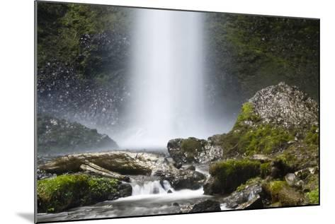 Latourell Falls and Creek, Columbia Gorge, Oregon, USA-Michel Hersen-Mounted Photographic Print