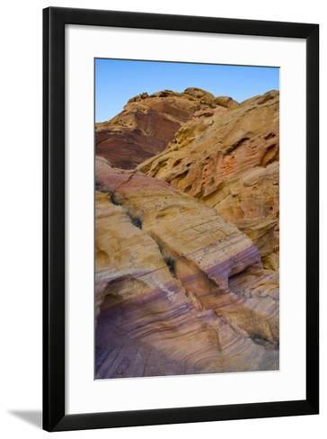 Pink Canyon, Valley of Fire State Park, Overton, Nevada, USA-Michel Hersen-Framed Art Print