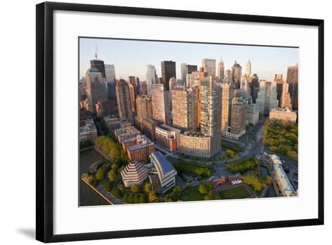 Lower Manhattan, Financial District, New York, USA-Peter Adams-Framed Art Print