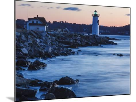 Portsmouth Harbor Lighthouse in New Castle, New Hampshire. Dawn-Jerry & Marcy Monkman-Mounted Photographic Print
