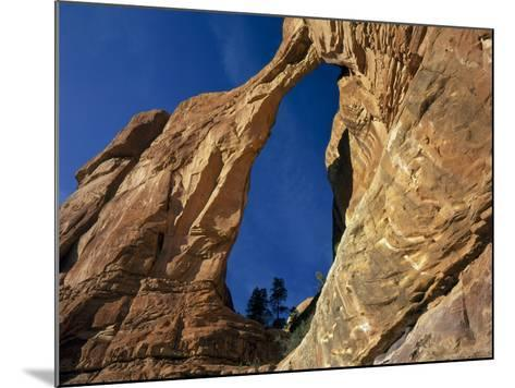 Utah. Angel Arch in Arch Canyon. Manti-Lasal NF. Great Canyonlands-Scott T^ Smith-Mounted Photographic Print