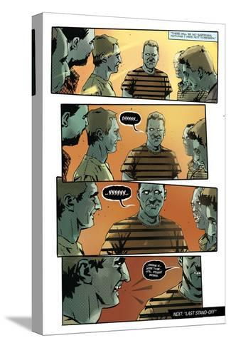Zombies vs. Robots: No. 9 - Comic Page with Panels-Antonio Fuso-Stretched Canvas Print