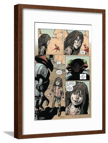 Zombies vs. Robots: Volume 1 - Comic Page with Panels-Val Mayerik-Framed Art Print