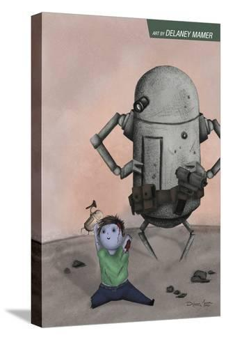 Zombies vs. Robots: No. 10 - Bonus Material-Delaney Mamer-Stretched Canvas Print