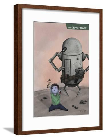 Zombies vs. Robots: No. 10 - Bonus Material-Delaney Mamer-Framed Art Print