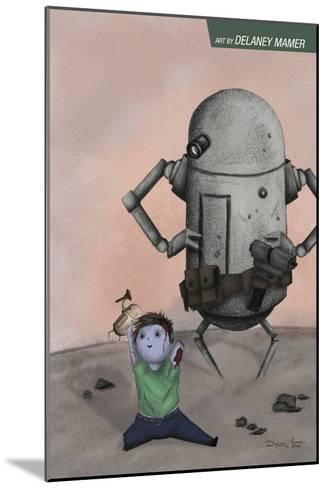Zombies vs. Robots: No. 10 - Bonus Material-Delaney Mamer-Mounted Art Print