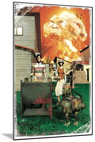 Zombies vs. Robots: More Than a Junkyard Dog-Fabio Listrani-Mounted Art Print
