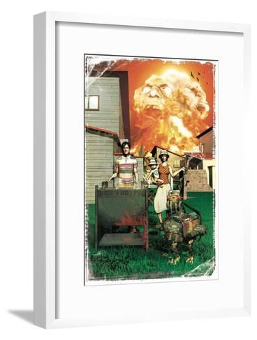 Zombies vs. Robots: More Than a Junkyard Dog-Fabio Listrani-Framed Art Print