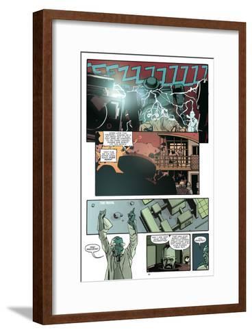 Zombies vs. Robots: No. 10 - Comic Page with Panels-Antonio Fuso-Framed Art Print