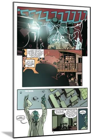 Zombies vs. Robots: No. 10 - Comic Page with Panels-Antonio Fuso-Mounted Art Print