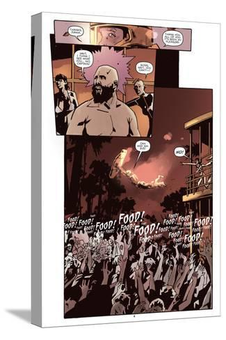 Zombies vs. Robots: No. 10 - Comic Page with Panels-Antonio Fuso-Stretched Canvas Print