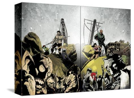 Zombies vs. Robots: Undercity - Page Spread-Mark Torres-Stretched Canvas Print