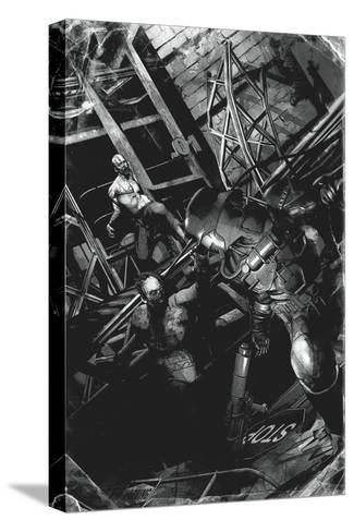 Zombies vs. Robots: No. 9 - Full-Page Art-Fabio Listrani-Stretched Canvas Print